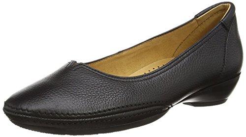 Gabor Shoes Gabor Casual, Ballerines Femme, Noir (Schwarz), 42.5 EU