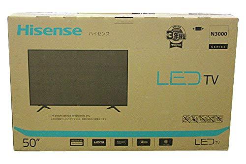 『ハイセンス Hisense 50V型 液晶 テレビ HJ50N3000 4K 外付けHDD裏番組録画対応 メーカー3年保証』のトップ画像
