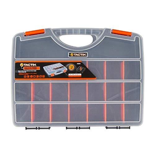 Tactix 320018para herramientas, 30cm, negro/naranja