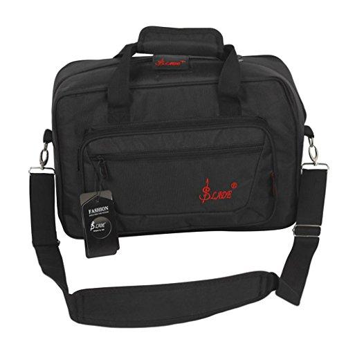 Klarinettenkoffer Koffer Etui Handtasche, Wasserdicht - Schwarz