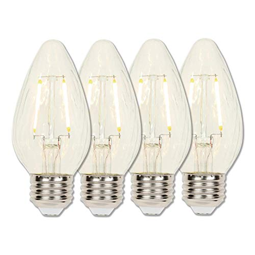 Westinghouse Lighting 3319320 LED Light Bulb, 4 Count (Pack of 1), Clear