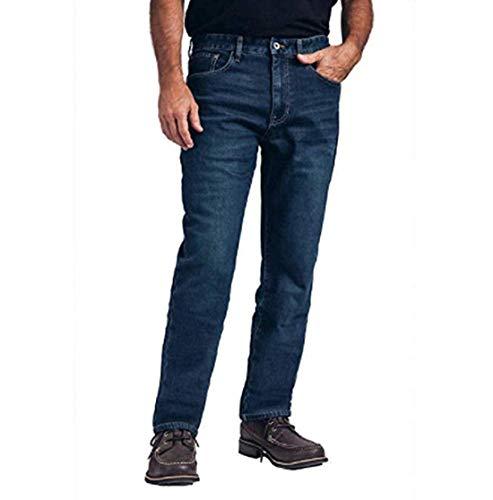 Weatherproof Vintage Men's Fleece Lined Pant (40x30, Blue)