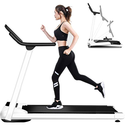 Cinta de Correr para Fitness y Banda Ancha Eléctrica para Portátil Plegable Caminar Máquina silenciosa Equipo Multifuncional de Fitness Cómodo Hogar