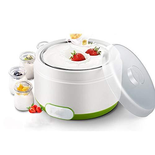 ZSQAI Multifunktions-Joghurtmaschine, automatische Mini-Tasse für den Haushalt, Schlafsaal mit kleinem selbstgemachtem Natto-Süßwein (Farbe : Grün)