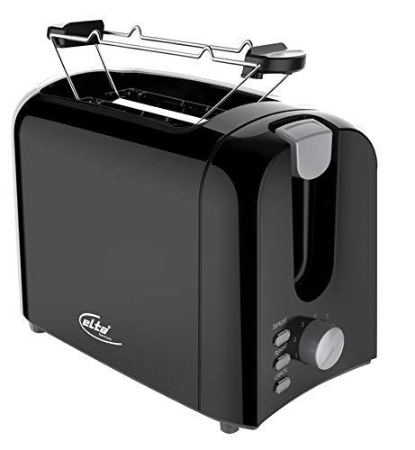 elta Cool Touch 2-Scheiben Toaster Brötchenaufsatz Toast Toastautomat auftauen