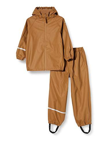 Celavi Unisex-Child Rainwear Ser - Recycle PU Rain Jacket, Rubber, 130