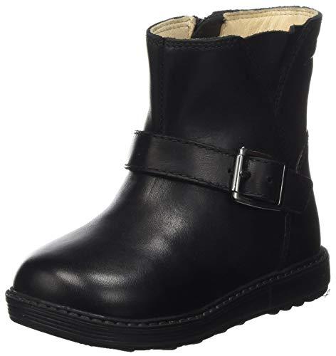 Geox Baby Mädchen B Hynde Girl WPF A Ankle Boot, Black, 25 EU