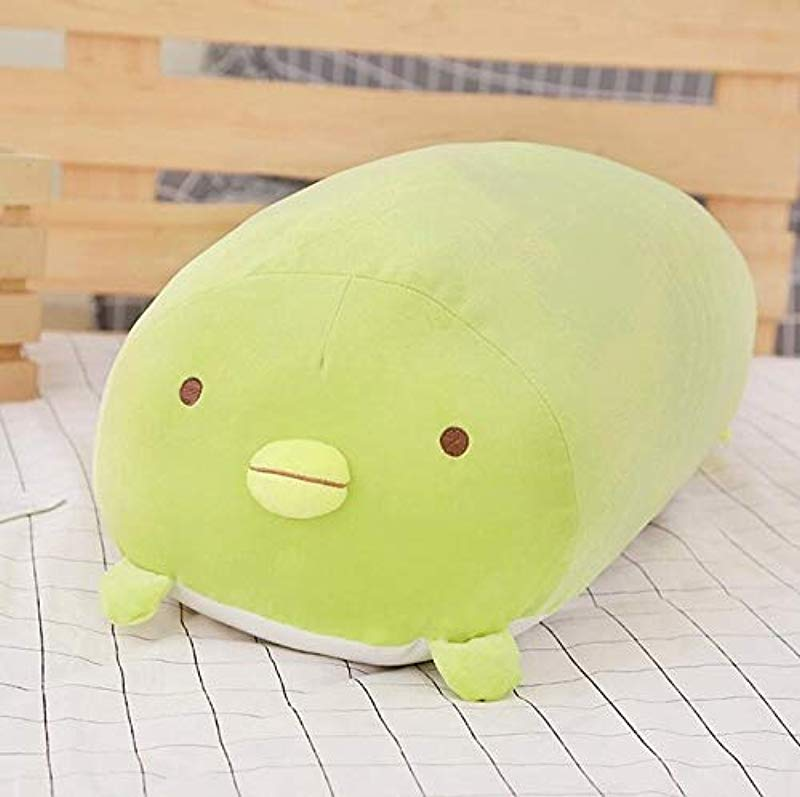 VIDANQE 60Cm 90Cm Sumikko Gurashi Corner Bio Pillow Creature Cute Cat Dinosaur White Bear Penguin Plush Toy 1Pcs Must Haves For Kids Funny Gifts The Favourite Superhero Toys Toy Unboxing