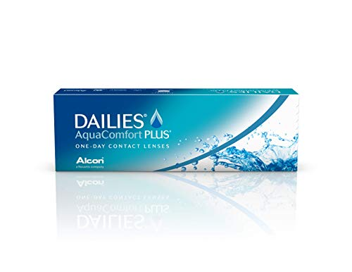 Dailies AquaComfort Plus Tageslinsen weich, 30 Stück, BC 8.7 mm, DIA 14.0 mm, -6 Dioptrien