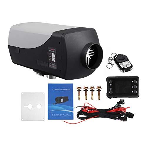 Calentador de automóviles con calentador de aire de 8kw 12V Diesel Calentador de calefactor con control remoto Monitor LCD para vehículos de remolque de autocaravanas RV Barcos