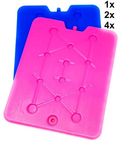 Pilix Kühlakkus für Kühltasche XXL sehr groß und flach 2 x | 32 x 25,5 x 1 cm | Kühlpads für Kühltasche, Kuehlbox, Icebox | Freeze Pack | Freeze Board | Kühlakku groß langanhaltend