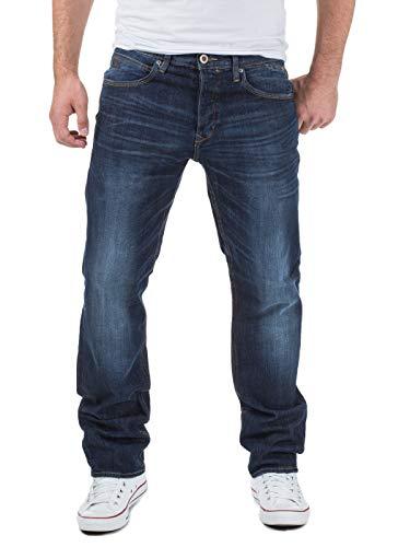 Blend Herren Straight Leg Jeanshose Rock, Blau (76946-L32), 33W / 34L