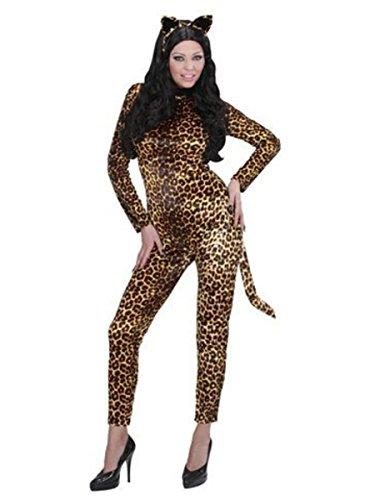 Widmann Kostüm Leoparden-Lady 3-tlg. L