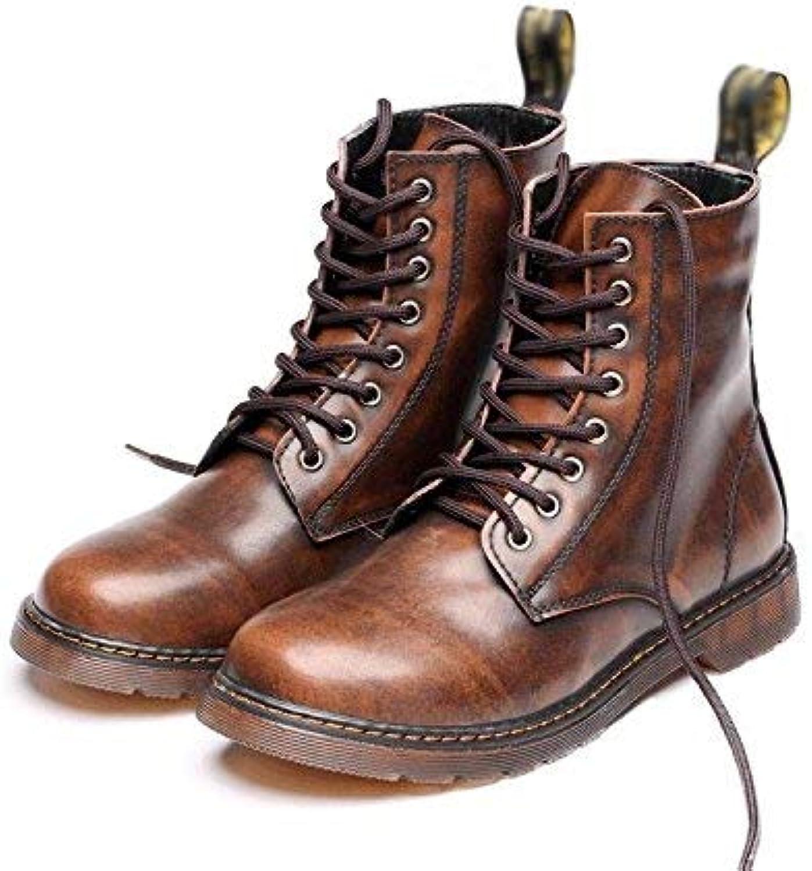Martin Stiefel Herren hohe weiche Leder High-End-Bequeme Spitzenschuhe, Spitzenschuhe, Spitzenschuhe, 42 (Farbe   -, Größe   -)  7a48cb