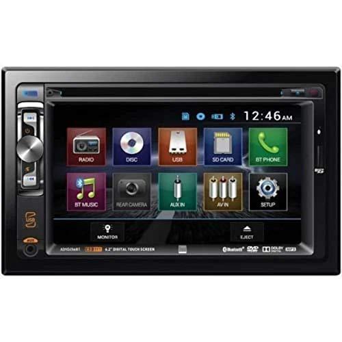 cheap Dual XDVD 256BT Digital Multimedia 6.2 inch LCD Touch Screen LED Backlit Car Radio Dual DIN…