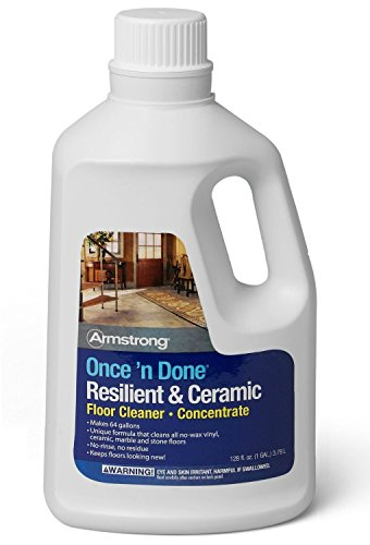 Armstrong Once and Done Resilient & Ceramic Floor Cleaner Concentrate 1 Gallon
