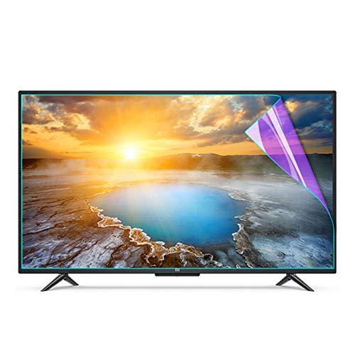 AWSAD Proteggi Schermo TV, Ridurre Il Riflesso Dell'abbagliamento Resistente Ai Graffi Pellicola Salvaschermo Anti Luce Blu per TV Protezione per Gli Occhi