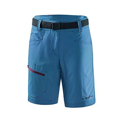 Black Crevice Damen Trekking Shorts, blau, 42