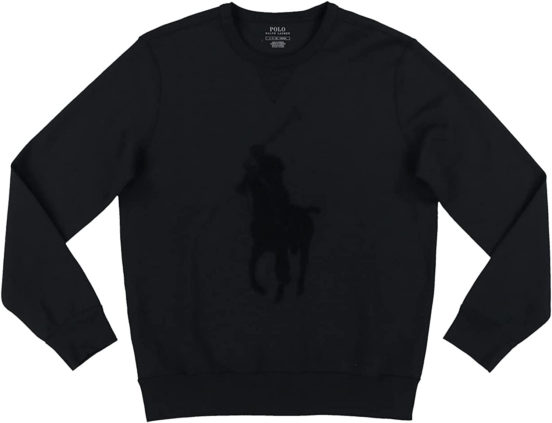 Polo Ralph Lauren Mens Big Pony Crew Sweatshirt