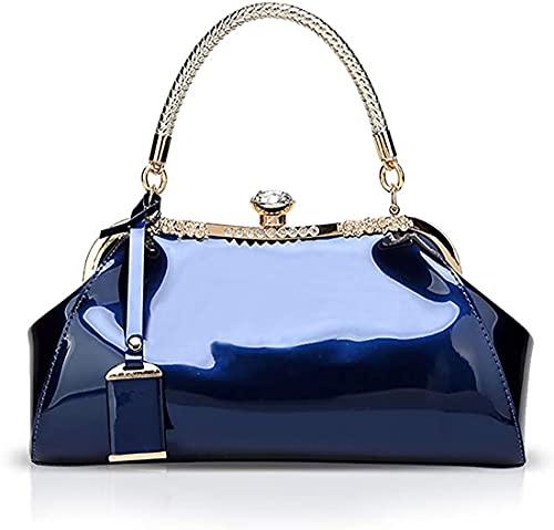 Oinna Bolso de mano clásico de piel creativa, bolso de mensajero Trend Wild para mujer, bolso de mano simple para mujer, 32 x 13 x 18 cm, color, talla 32 x 13 x 18 cm/12.6*5.12*7.09 IN