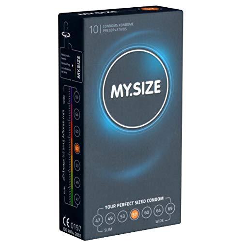 My.Size 57mm, breite Kondome, 1 x 10 Stück
