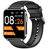Stiive Smart Watch, 1.52 Inch HD Touch Screen Smartwatch, Heart Rate Monitor IP68 Waterproof Fitness Tracker Watch for Women Men Compatible with iPhone & Android Phone