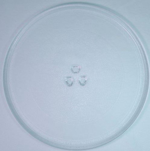 Mikrowellenteller / Drehteller / Glasteller für Mikrowelle # ersetzt Bifinett Mikrowellenteller # Durchmesser Ø 32,4 cm / 324 mm # Ersatzteller # Ersatzteil für die Mikrowelle # Ersatz-Drehteller # OHNE Drehring # OHNE Drehkreuz # OHNE Mitnehmer