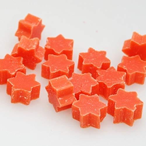 florex Lait de brebis Savon Mini Mini Étoile Lot de 50 orange sanguine Savon dragées