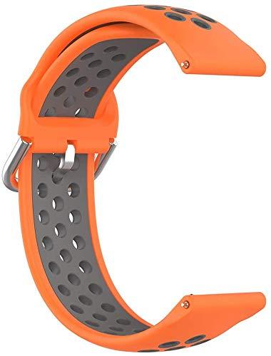 Gransho Compatible con Polar Ignite/Polar Unite Correa de Reloj, Banda de Reemplazo Silicona Suave Sports Pulsera (20mm, Pattern 2)