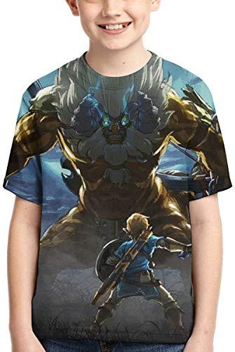 guoweiweiB T-Shirts Hemden Jungen Tops The Legend of Zelda Boys Short Sleeve T-Shirt Fashion Youth Tee