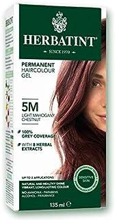 Herbatint, Permanent Haircolor Gel, 5M, Light Mahogany Chestnut 135ml