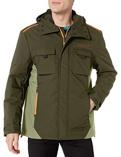 Oakley Men's Mountain Cargo Jacket, Blackout, L
