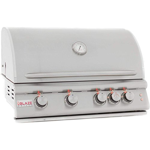 Blaze Built-In Grill with Lights (BLZ-4LTE2-NG), 32-inch, Natural Gas Gas Grills Natural