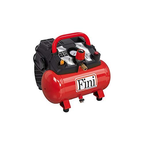 FINI Energy 6 COMPRESSORE Aria Portatile Elettrico 6 LT 8 Bar Motore 1,5 HP 230V