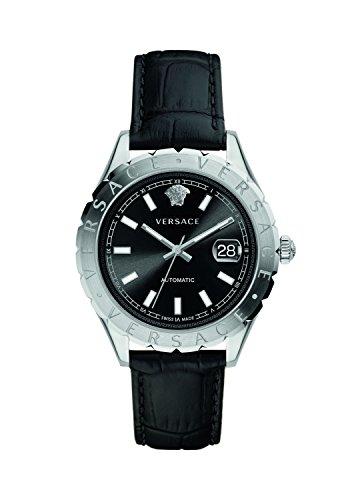 Versus Versace Damen Analog Automatik Uhr mit Leder Armband VZI010017