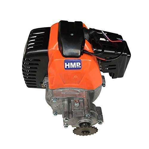 HMParts Mach1 kompletter Motor 43 ccm Pocket Bike Gas Scooter