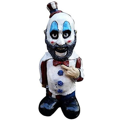 DaiiBlktfb Garden Gnomes Statue Halloween Decoration, Creepy Dwarf Zombie, Spooky Undead Horror...