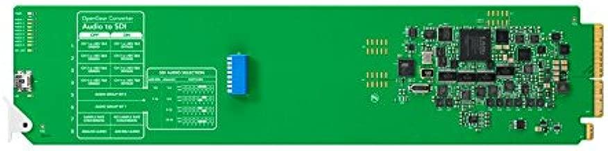Blackmagic Design OpenGear Converter Audio to SDI - Conversor de vídeo (1080i,1080p,720p, NTSC,PAL, Verde, AES/EBU, Analog Audio, SDI)