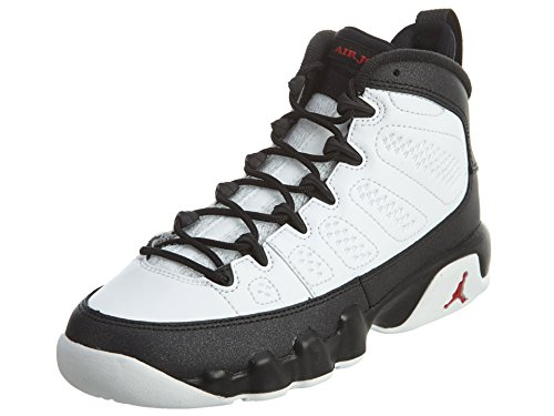 Nike Air Jordan 9 IX Retro BG Black & White Space Jam 302359-112, 36.5 EU