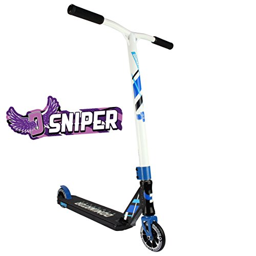 Dominator Sniper Complete Pro Scooter (Black/White)