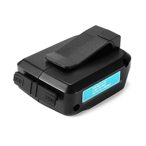 XCSOURCE マキタ USB アダプター Makita ADP05 LXT BL14 BL18 Li-ionバッテリー用 14-18V BC678
