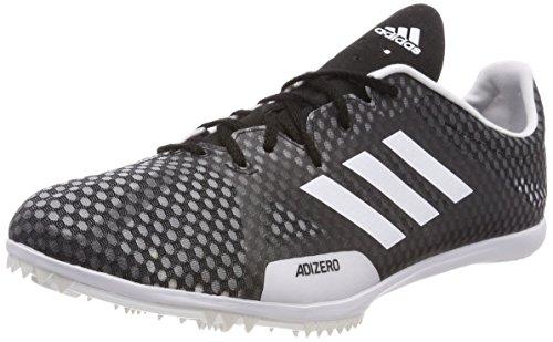 Adidas Adizero Ambition 4, Zapatillas de Atletismo para Hombre, Negro (Negbas/Ftwbla/Naalre 000), 43 1/3 EU