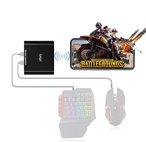 ipega 9116 Wireless BT Keyboard and Mouse Converter Portable Converter for Mobile Plug Game Controller Android Smartphone Tablet Windows PC