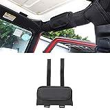 LZTQ Roll Bar Grab Handle Sunglasses Holder Storage Bag for Jeep Wrangler TJ JK JL Gladiator JT 1997-2018 2019 2020 2021 2022 Car Interior Accessory Black