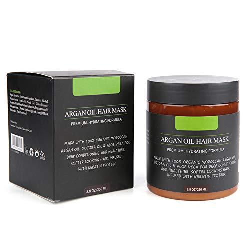 Ponacat Masque Capillaire Traitement Nourrissant pour Les Cheveux Doux Réparation Lisse Traitement Des Cheveux Abîmés Soin Des Cheveux Produit 250G