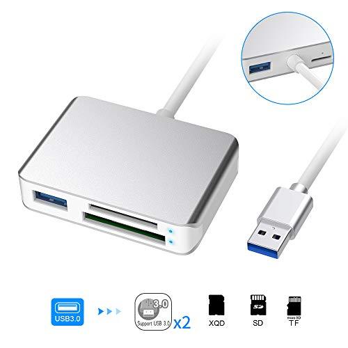 XQD Kartenlesegerät USB 3.0 XQD/SD Card Reader XQD G und M Serie Kartenleser 5 Gb/sec Schneller Carmera Speicherkarten Leser für Sony XQD-Speicherkarten Kompatibel Windows/Mac OS-System