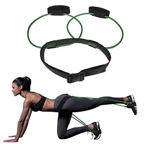 Justdolife Ceinture de Musculation pour Jambes, Booty Belt Butt Lifting Exercice Bande de...
