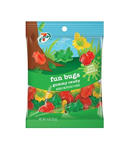 7-Select Fun Bugs Gummy Candy
