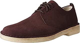Clarks Men's Desert London Burgundy Suede 9 D US (B01N9QEJ0C) | Amazon price tracker / tracking, Amazon price history charts, Amazon price watches, Amazon price drop alerts