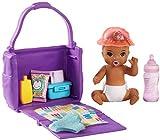 Barbie Skipper Canguro Bebé con Pañal y Accesorios (Mattel Ghv86)